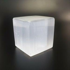 "Crystal Selenite Cube 2"""